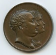 World Coins - Commemorative RARE medal: Visit of King & Queen of Bavaria to Paris Mint, 1810