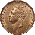 World Coins - Great Britain 1830 George IV Gold Sovereign NGC AU DETAILS