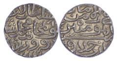 World Coins - INDIA, SULTANS OF DELHI, MUBARAK SHAH (AH 824-827 / 1421-1434 AD), SILVER TANKA