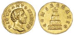Ancient Coins - Divus Antoninus Pius, Gold Aureus