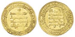 World Coins - ABBASID, AL-MUQTADIR (AH 295-320 / 908-932 AD), GOLD DINAR