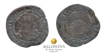 Henry VIII Testoon (1544-47). Very Rare. Nice Metal. Good Fine for Issue. Southwark Mint. Original tickets.