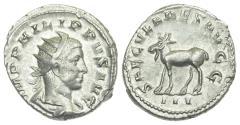 Ancient Coins - Philip II, Silver Antoninianus