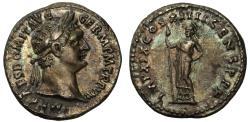 Ancient Coins - Domitian, Silver Denarius