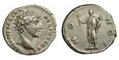 Ancient Coins - Marcus Aurelius, Silver Denarius.