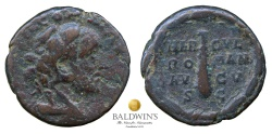 Ancient Coins - Commodus as Hercules (177-192) AE As. Scarce and Famous Type.