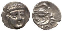 Ancient Coins - Campania, Phistelia, Silver Obol