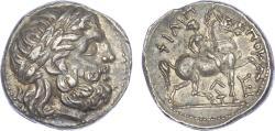Ancient Coins - Philip II, Silver Tetradrachm