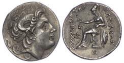 Ancient Coins - Lysimachus, Silver Tetradrachm