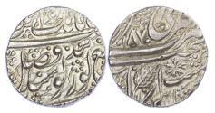 World Coins - INDIA, SIKH EMPIRE, RANJIT SINGH (VS 1858-1896 / 1801-1839 AD), SILVER RUPEE