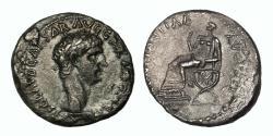 Ancient Coins - Claudius, Silver Denarius