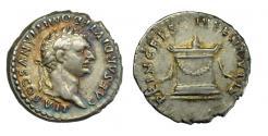 Ancient Coins - Domitian, Silver Denarius.