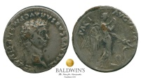 Ancient Coins - Claudius Denarius (Fouree/Plated). Substantial silvering remaining. Very Fine. Rare.