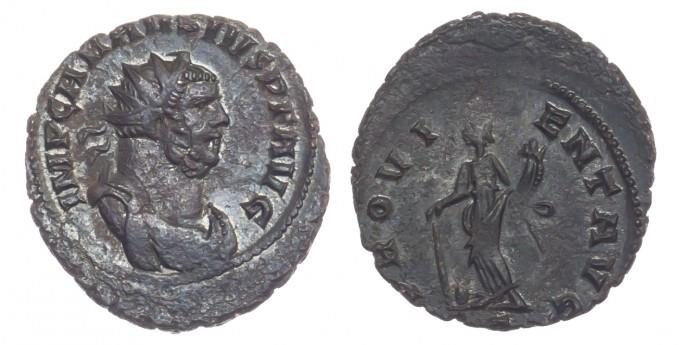 Ancient Coins - Carausius, AE Antoninianus, Extremely Fine.