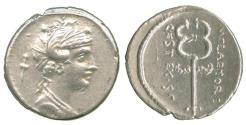 Ancient Coins - Roman Republic, M. Plaetorius Cestianus, Silver Denarius
