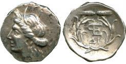 Ancient Coins - Argolis, Hermione, Silver Triobol