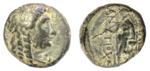 Ancient Coins - SELEUKID KINGS of SYRIA, Antiochus III 'the Great'. AE denomination C, Sardes mint, 222-187 BC