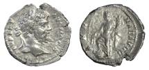 Ancient Coins - Septimius Severus. Foureé denarius. Annonia with foot on prow