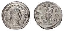 Ancient Coins - Philip I. AR antoninianus, Rome mint, struck 247 AD. Annona
