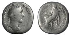 Ancient Coins - Antoninus Pius. AE sestertius, Rome mint. Struck AD 153