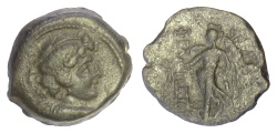 Ancient Coins - SELEUKID KINGS, Antiochos IX Eusebes. AE denomination B, struck 112/101 BC. Eros / Nike