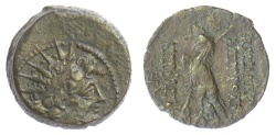 Ancient Coins - SELEUKID KINGS of SYRIA, Antiochos VIII Epiphanes. AE denomination B, Antioch mint. 121-96 BC