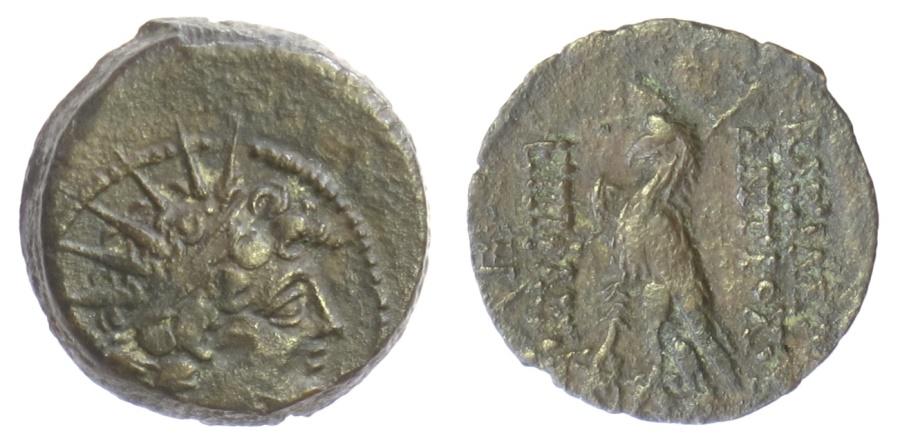Ancient Coins - SELEUKID KINGS of SYRIA, Antiochos VIII Epiphanes. AE denomination B, Antioch mint. 121-96 BC