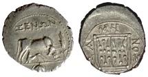 Ancient Coins - ILLYRIA, Dyrrhachion. AR Drachm. Xenon, magistrate, circa 200-37 BC