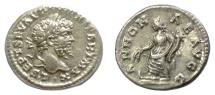 Ancient Coins - Septimius Severus. AR denarius. Rome mint. Struck AD 198-202