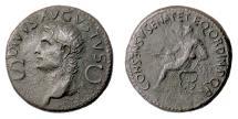 Ancient Coins - Augustus. AE dupondius, Rome mint. Struck under Gaius (Caligula), AD 37-41