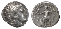 Ancient Coins - KINGS of MACEDON. Philip III Arrhidaios, 323-317 BC, in the name of Alexander III