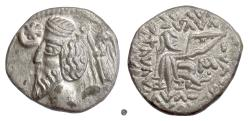 Ancient Coins - PARTHIA, Phraataces. AR Drachm, Mithradatkart mint, 2 BCE –  4 CE