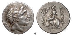 Ancient Coins - KINGS of THRACE, Lysimachos. Fourée tetradrachm, 305-281 BC