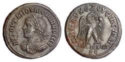 Ancient Coins - PHILIP II. Syria, Antiochia. BI tetradrachm, 247-249 AD. Eagle with spread wings
