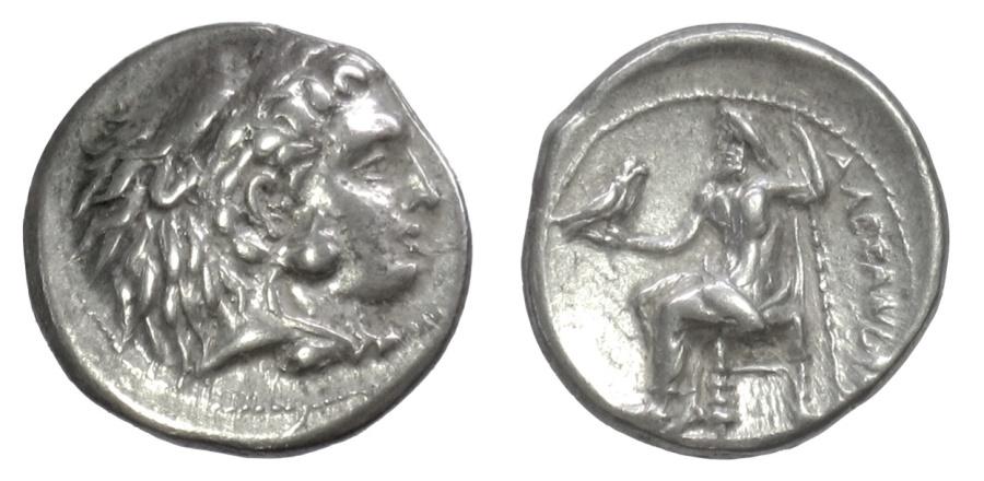 Ancient Coins - KINGS of MACEDON. Alexander III 'the Great'. AR Drachm, uncertain mint