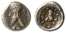 Ancient Coins - PERSIS, NAPAD (Kapat). AR hemidrachm, late 1st century AD