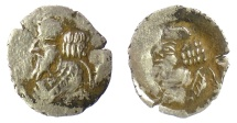 Ancient Coins - PERSIS, PAKOR II. AR obol, early 1st cent CE