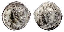 Ancient Coins - ELAGABALUS. AR denarius, Rome mint, struck 220-222 AD