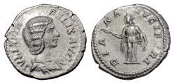 Ancient Coins - JULIA DOMNA. AR denarius, Rome mint. Struck AD 211-215