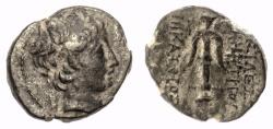 Ancient Coins - SELEUKID KINGS, Demetrios II Nikator. AE denomination C, Selukeia(?) mint. RARE. 146-138 BC.