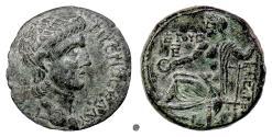 Ancient Coins - CILICIA, Uncertain Caesarea.  CLAUDIUS, AE 27, dated year 5 (45/6 AD). Zeus