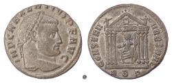 Ancient Coins - MAXENTIUS.  AE follis, Rome mint, struck 308-311 AD