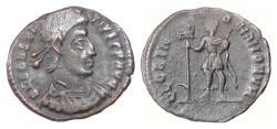 Ancient Coins - CONSTANTIUS II. AE reduced maiorina, Siscia mint, 337-361 AD