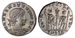 Ancient Coins - DELMATIUS. AE follis, Alexandria mint, struck 336-337 AD