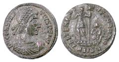 Ancient Coins - CONSTANTIUS II. AE 18, Siscia mint, 337-361 AD