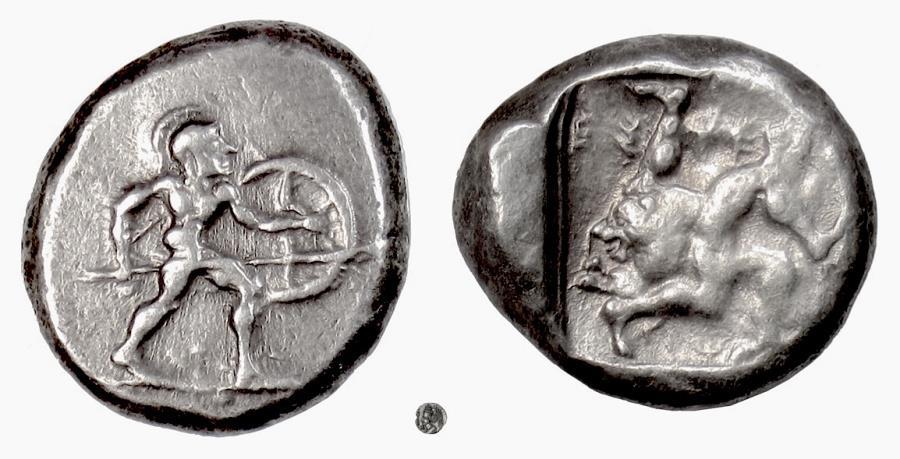 Pamphylia, Aspendos. AV Stater, 465-430 BC - Gladius Coins