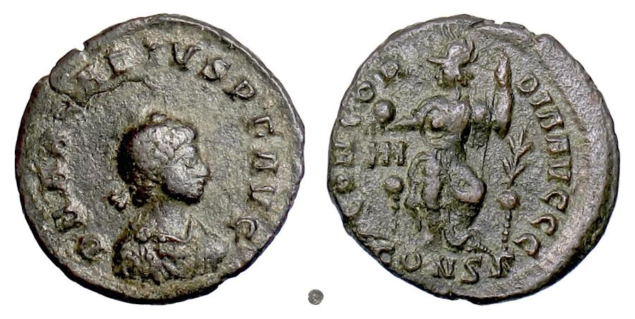 Ancient Coins - ARCADIUS.  AE centenionalis, Constantinople mint, 383 AD