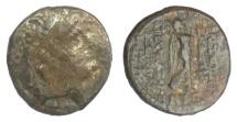Ancient Coins - SELEUKID KINGS, Demetrios III Eucaerus. AE denom B, Damaskos mint, 95/4 BC