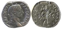 Ancient Coins - Severus Alexander. AE Sestertius, Rome mint. 9th emission, AD 228