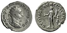 Ancient Coins - TRAJAN DECIUS. AR Antoninianus, Rome mint, struck 249-250 AD